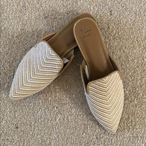 A New Day Neutral Rachel Mules, Size 7M